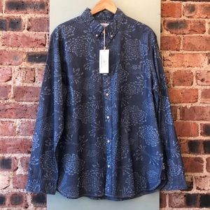 Surfside Supply Long Sleeve Patterned Button Up